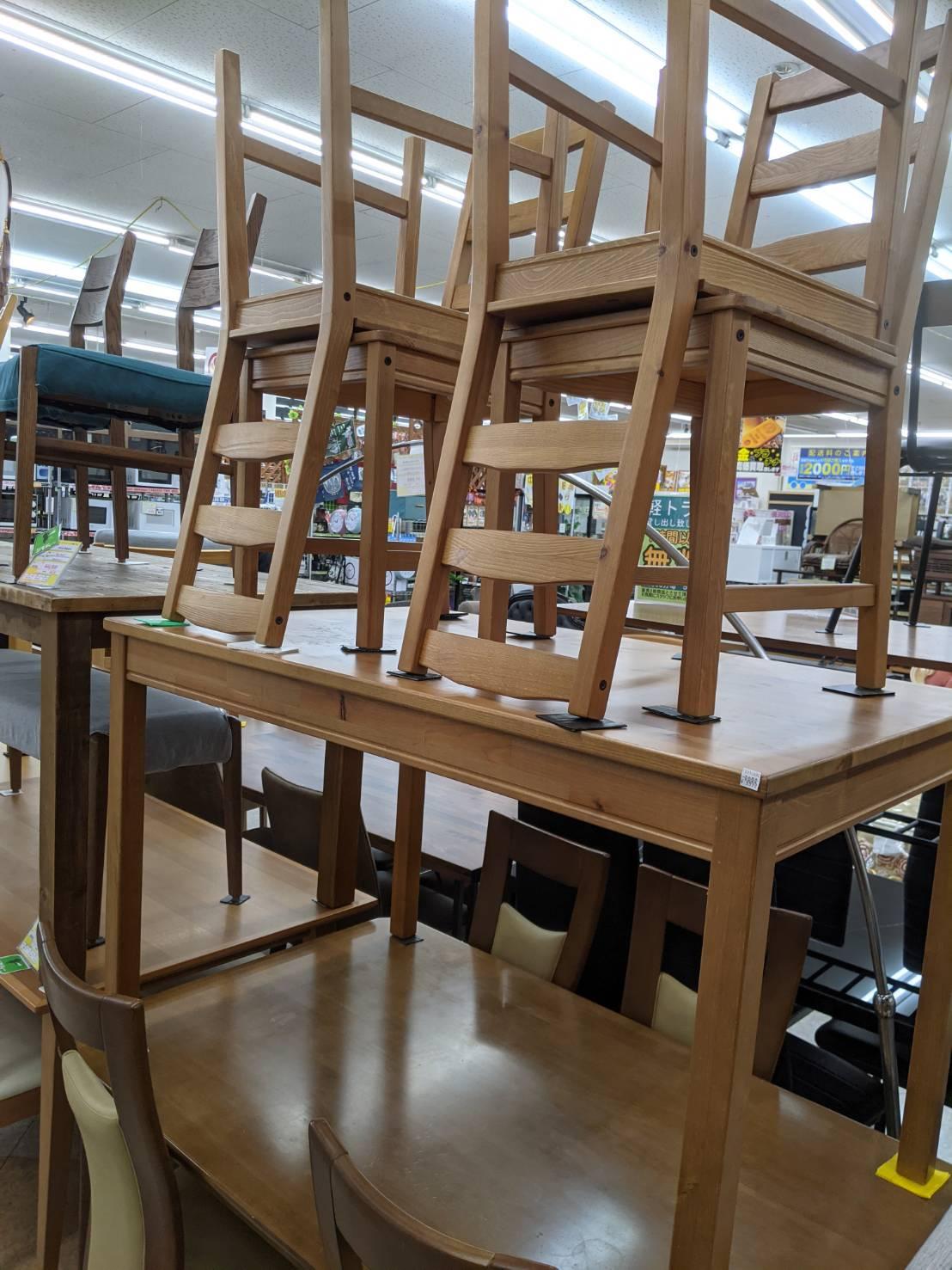 【IKEA(イケア)/JOKKMOKK ヨックモック/ダイニング5点セット/カントリー調/パイン材】お買取させて頂きました。の買取-