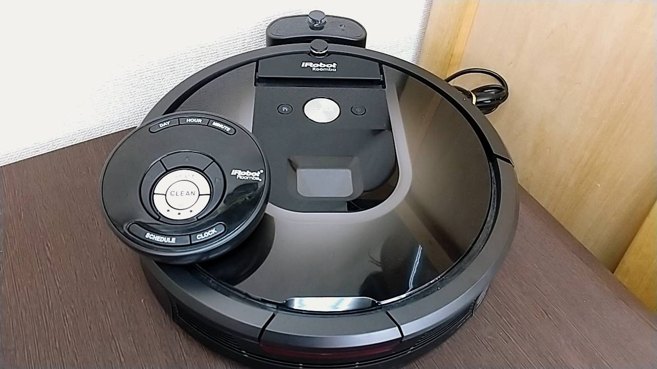 【お掃除ロボット iRobot(アイロボット)ルンバ980】を買取致しました!の買取-