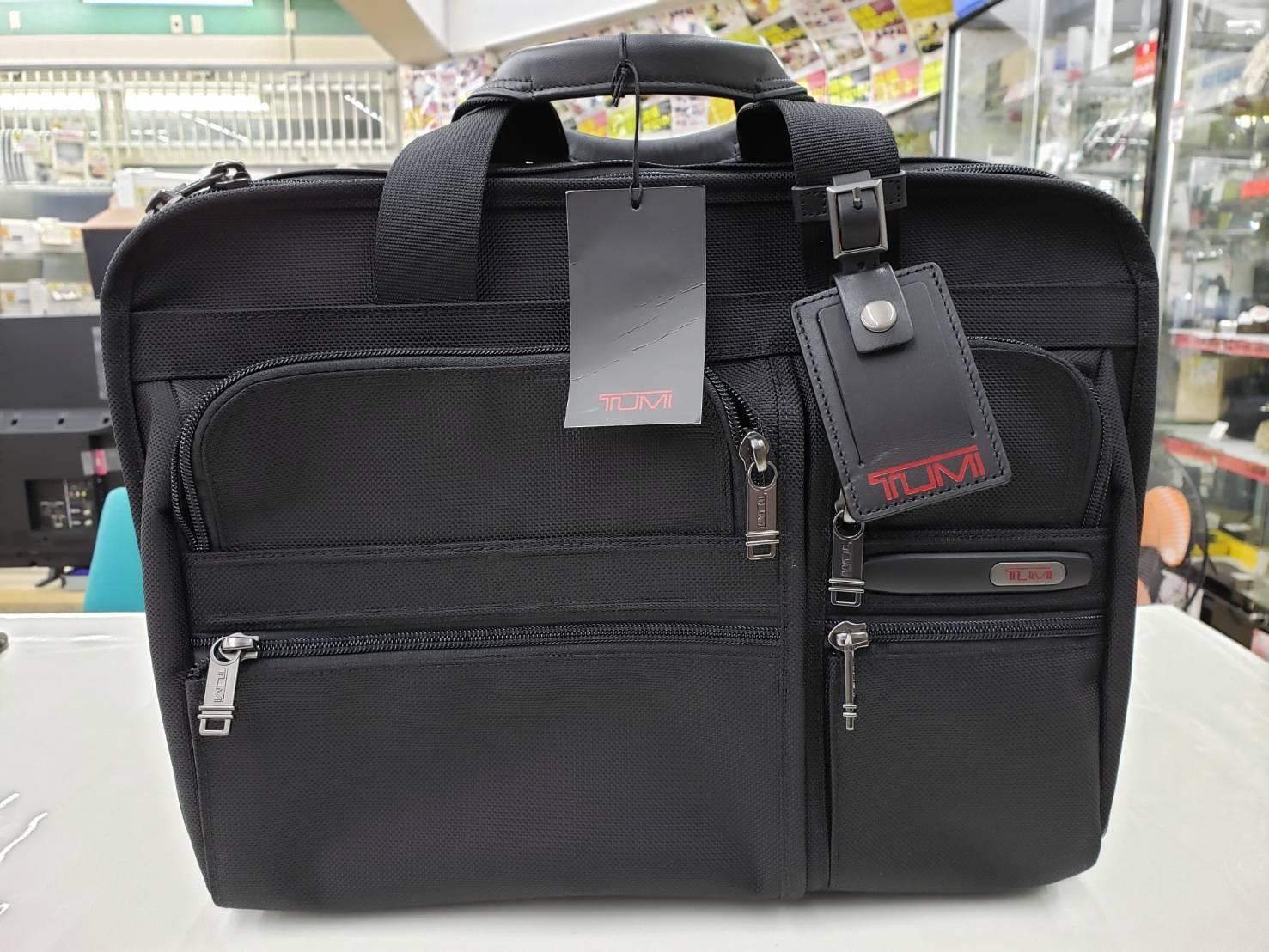 「新品」TUMI /トゥミ ビジネスバッグ 買取致しました。の買取-