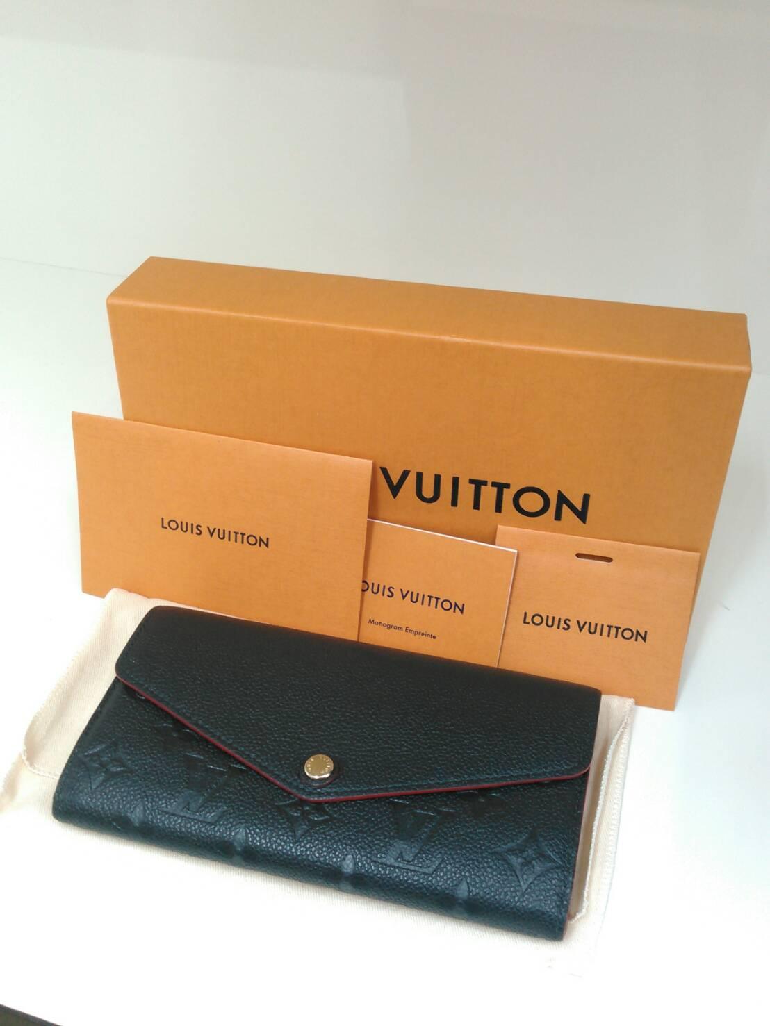 LOUIS VUITTON ルイヴィトン ポルトフォイユ サラ アンプラント マリーヌルージュ M6425 長財布 買取致しました!!の買取-