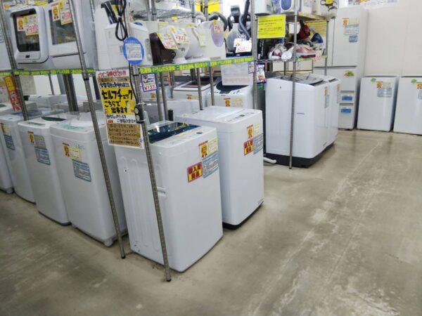 ☆冷蔵庫&洗濯機☆大量販売中!!単身サイズからファミリーサイズまで!