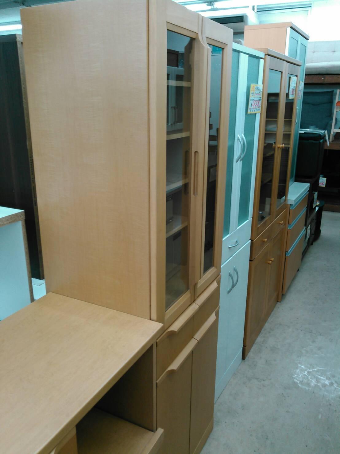 【浜本木工 食器棚 キッチン家具 キャビネット 収納家具】買い取り致しました!の買取-