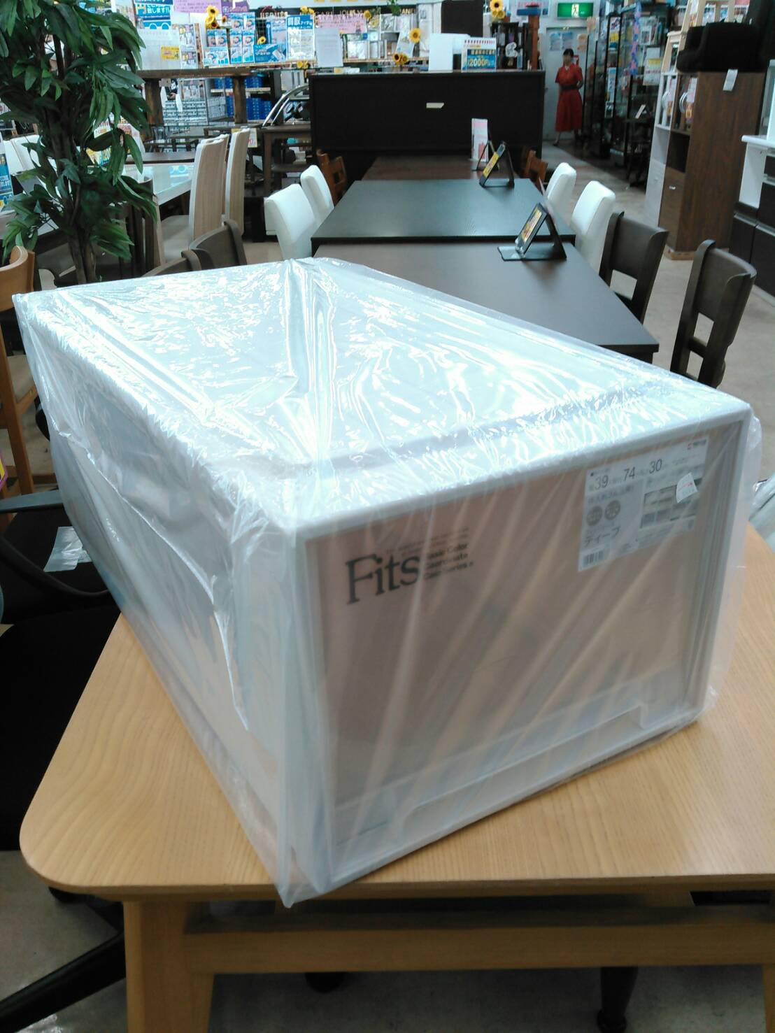 【新品 Tenma 天馬 フィッツケース ディープ 押し入れ 収納 プラケース】買い取り致しました!の買取-