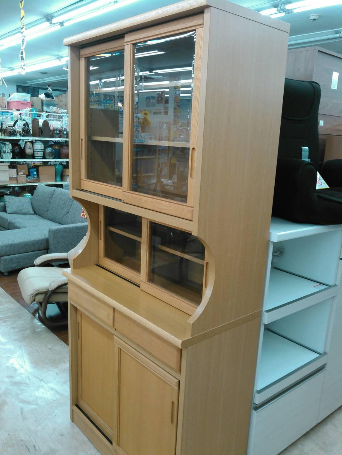 【食器棚 収納家具 キッチン家具 キッチン収納 カントリー調】買い取り致しました!の買取-