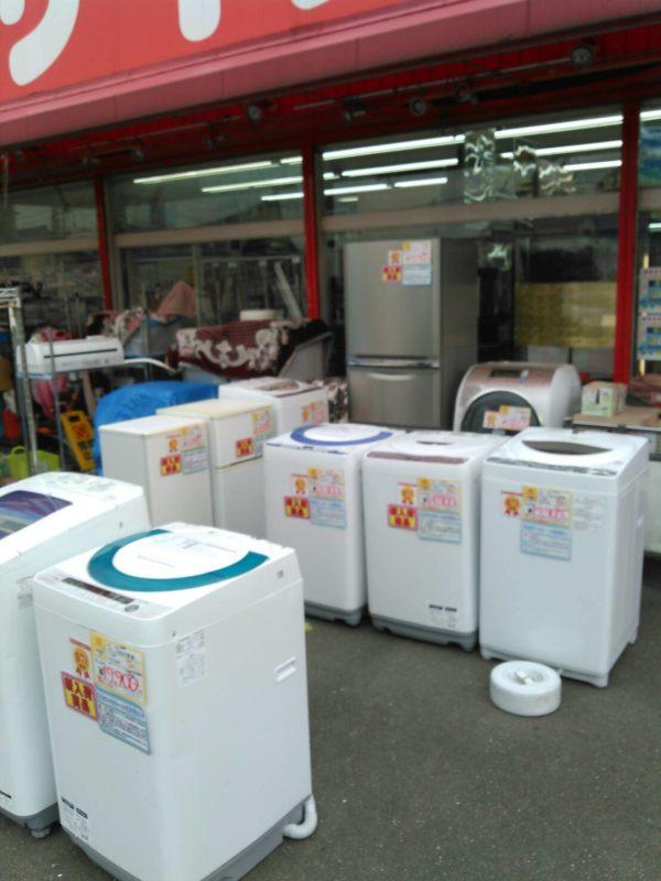 冷蔵庫・洗濯機 低価格モデル~幅広く取り揃えております!
