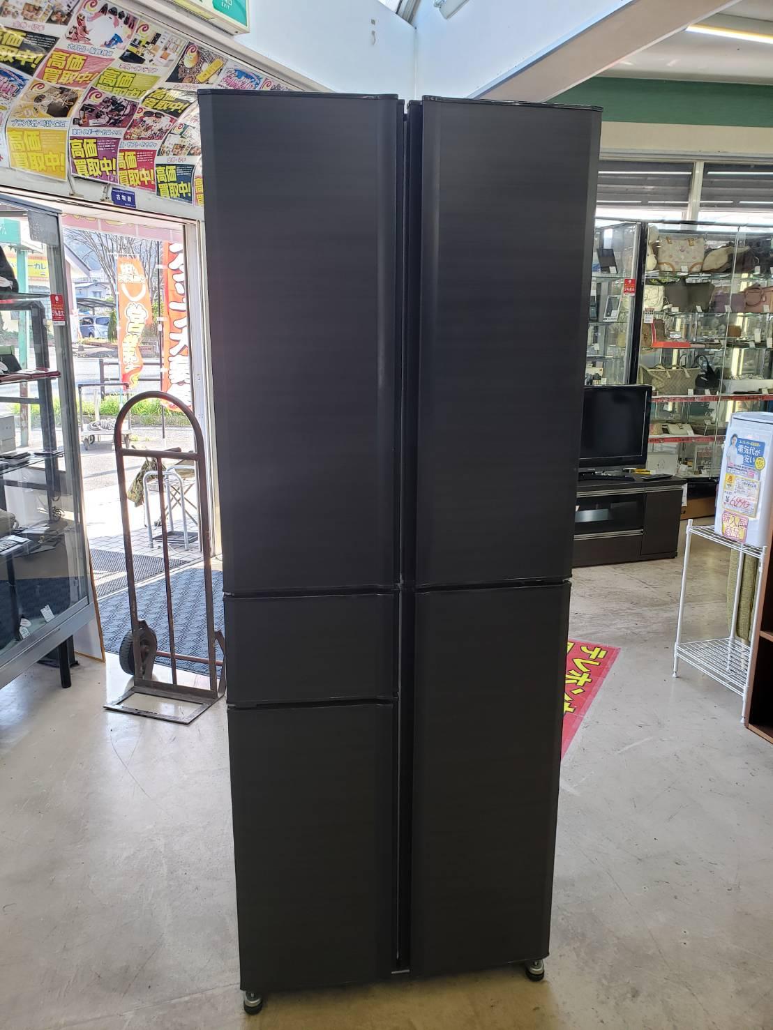 MITSUBISHI / ミツビシ 405L冷蔵庫 MR-A41YW ブラウン 買取致しました。の買取-