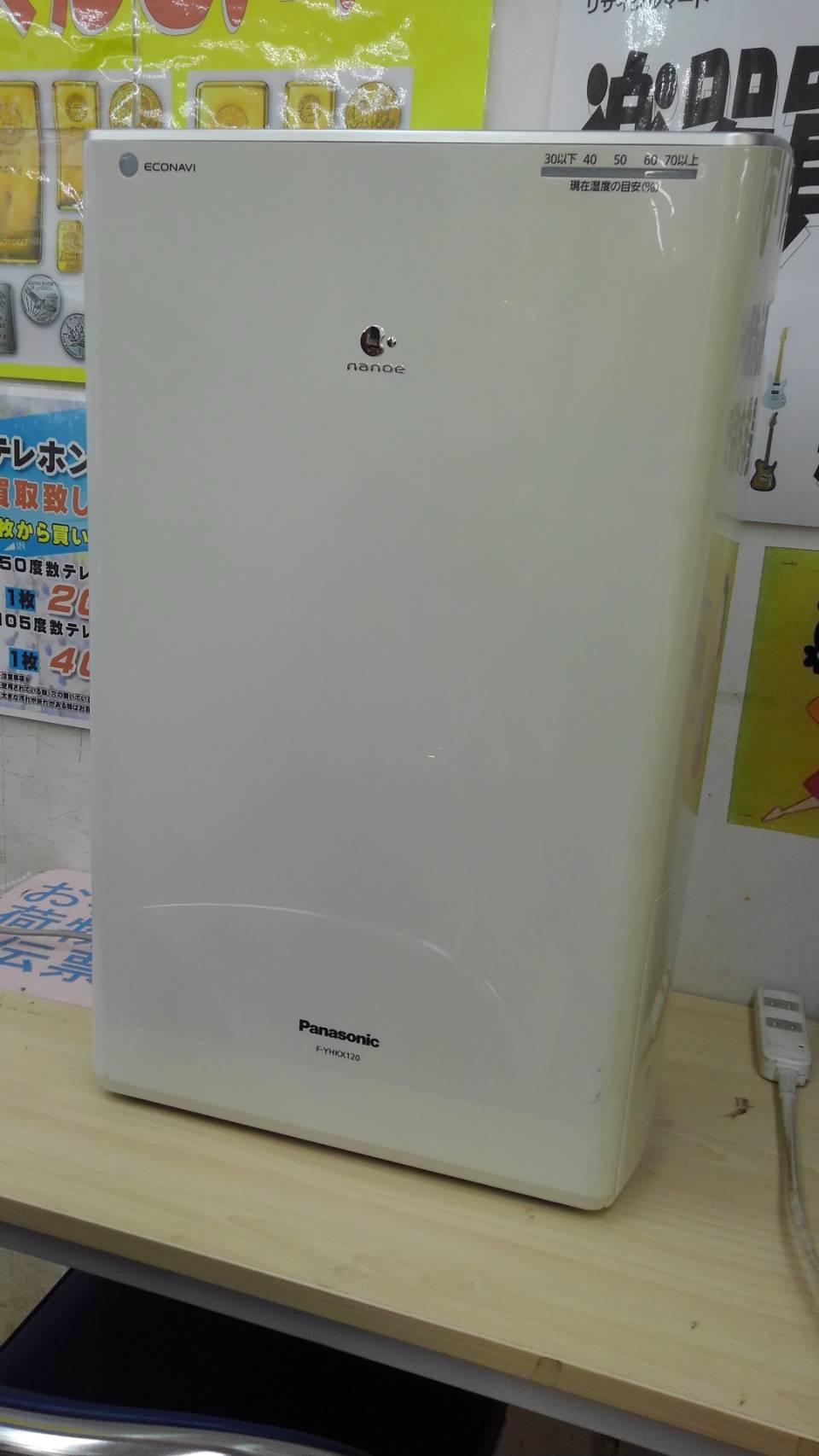 【Panasonic  パナソニック 除湿乾燥機 F-YHKX120 2014 】買い取り致しました!の買取-