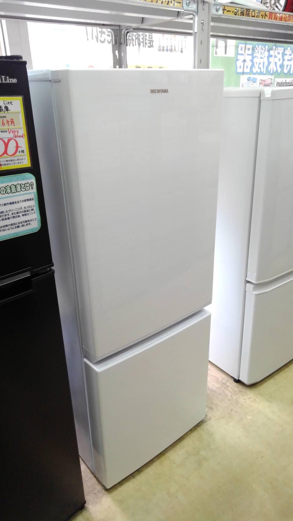 【アイリスオーヤマ 156L冷蔵庫 2018 AF156-WE】買い取り致しました!の買取-