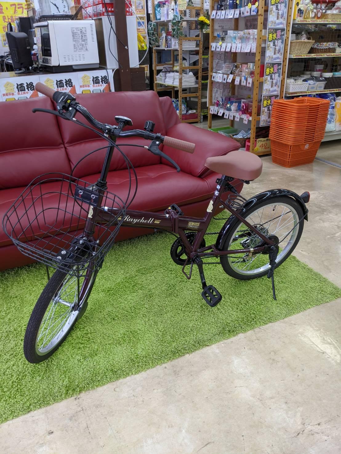 【OTOMO Raychell レイチェル 20インチ 6段変速 折りたたみ自転車】お買い取り致しました!!の買取-