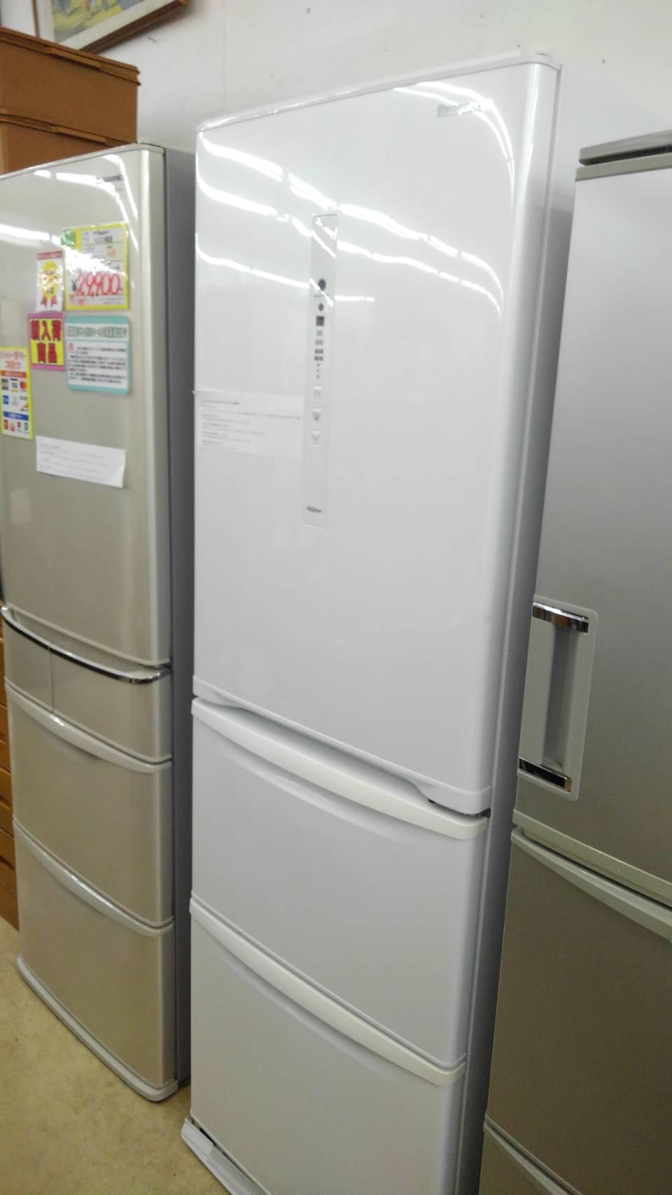 【panasonic パナソニック ファミリー冷蔵庫 365l冷蔵庫 2018年製 NR-C37HC-W】買い取り致しました! の買取-