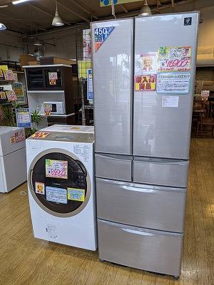 【大型ファミリー冷蔵庫・ドラム洗濯機】多数入荷しました!!