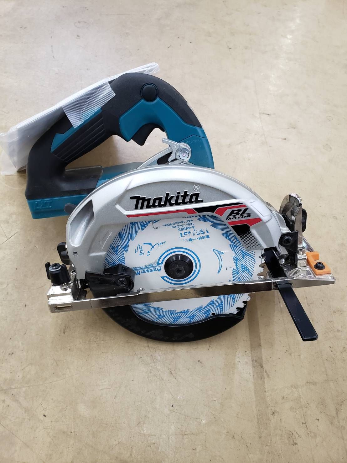 makita / マキタ 充電式丸ノコ HS631D 2019年製 説明書付き 美品 買取致しました!の買取-