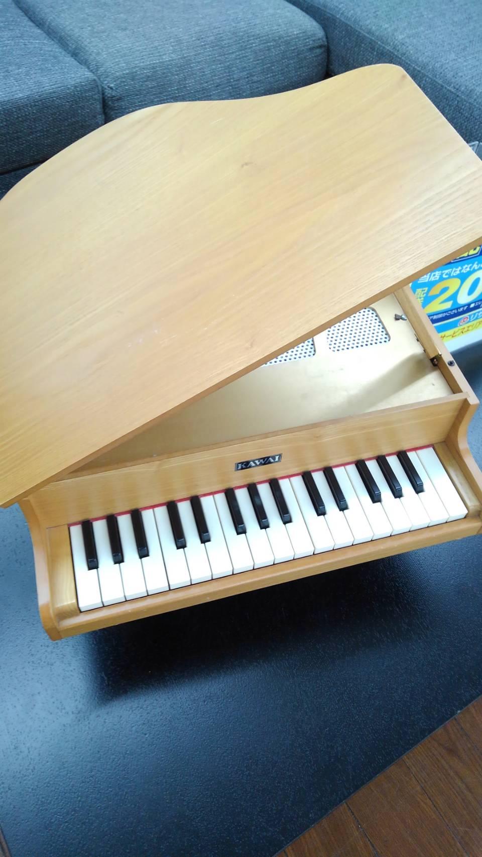 【ミニピアノ トイピアノ KAWAI カワイ 32鍵 ナチュラル】買い取り致しました!の買取-