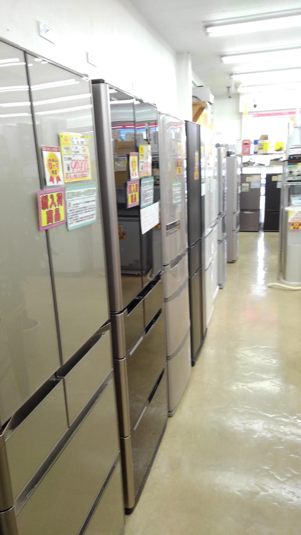 【ファミリー冷蔵庫】大量に入荷致しました!
