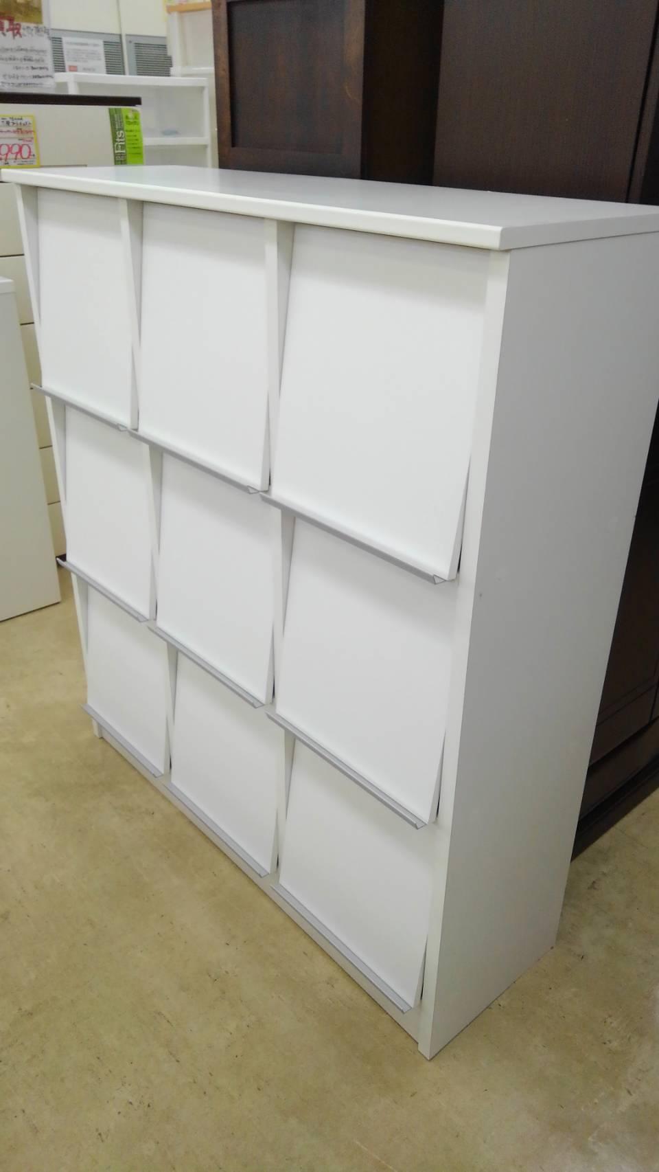 【フリーラック オープンラック ブック 本 白家具 インテリア】買い取り致しました!の買取-