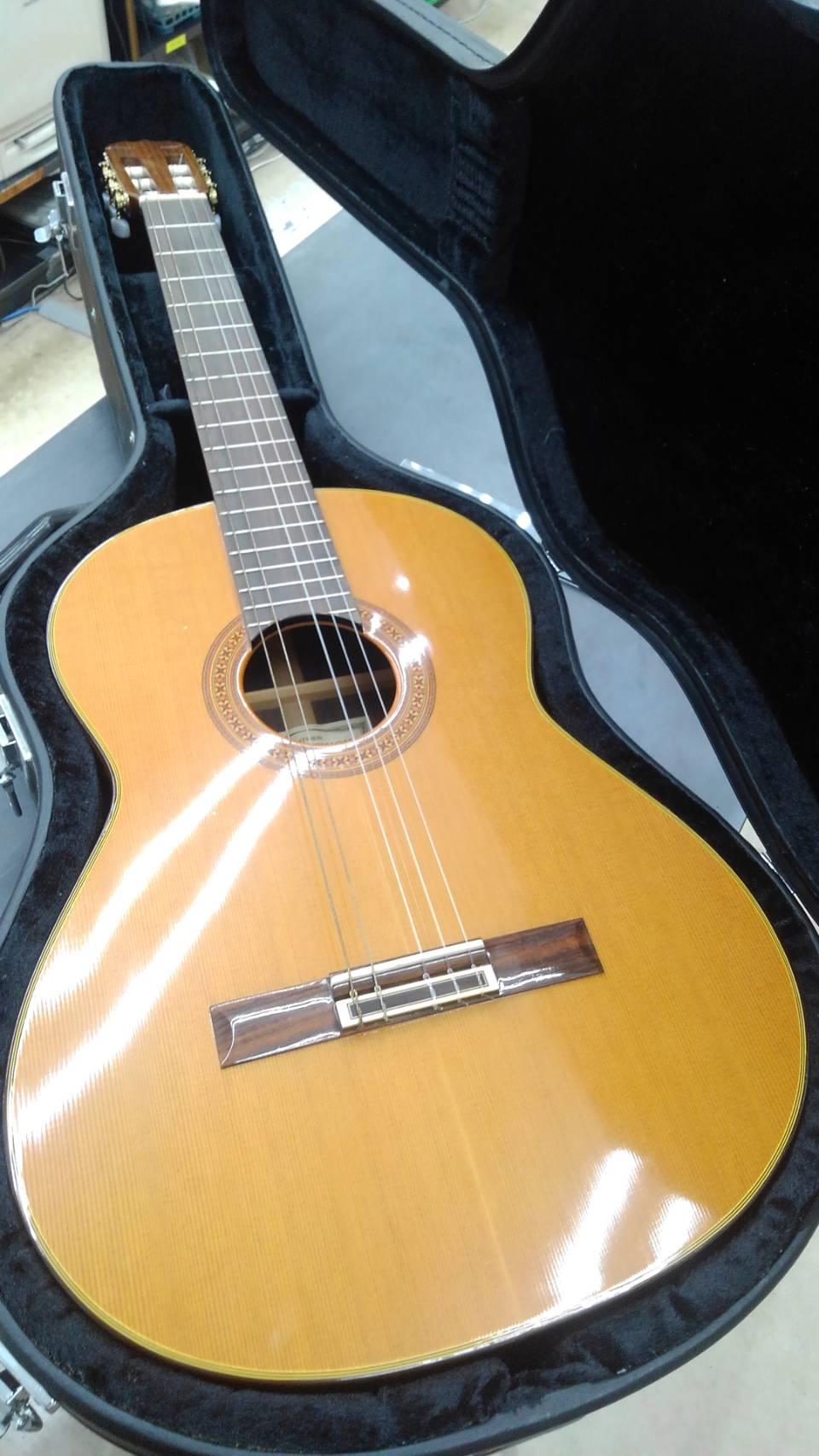 【RYOJI MATSUOKA クラシックギター M65 松岡良治 LUTHIER】買い取り致しました!の買取-