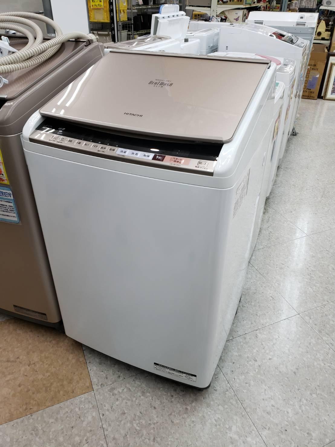【超美品!! HITACHI 日立 8.0kg洗濯機 2017年製 BW-DV80B】を買取致しました!!の買取-