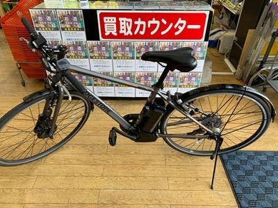 【⭐️極美品 2020年購入⭐️BRIDGESTONE TB1e 27インチ電動アシストクロスバイク 自転車 ブリヂストン】お買取りしました!の買取-
