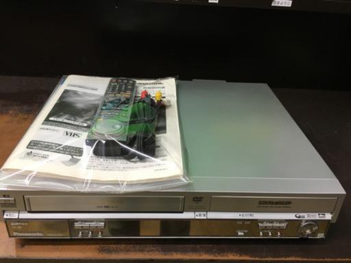 【希少! 美品! Panasonic VHS/DVD/HDDレコーダー DMR-E250V DIGA パナソニック ディーガ】お買取りしました!の買取-