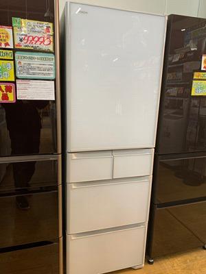 【極美品 2020年製 HITACHI 401L冷蔵庫 R-S40K XW ガラス扉 5ドア 日立 日本製 超高年式】お買取りしました!の買取-