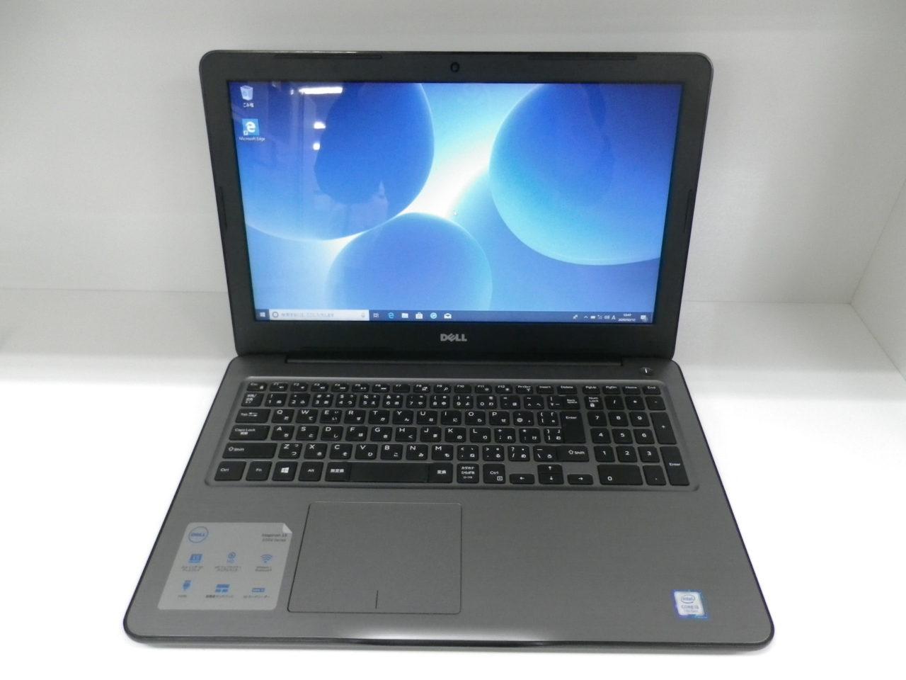 【 DELL ノートPC 15.6インチ Inspiron15 5000 Series CPU/ i3 7100U メモリ/4GB HDD/1TB パソコン 】をお買取り致しました☆の買取-