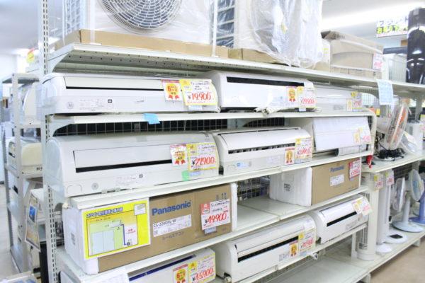 ☆エアコン在庫御座います!新品から中古品など幅広く在庫あります(*^^)v