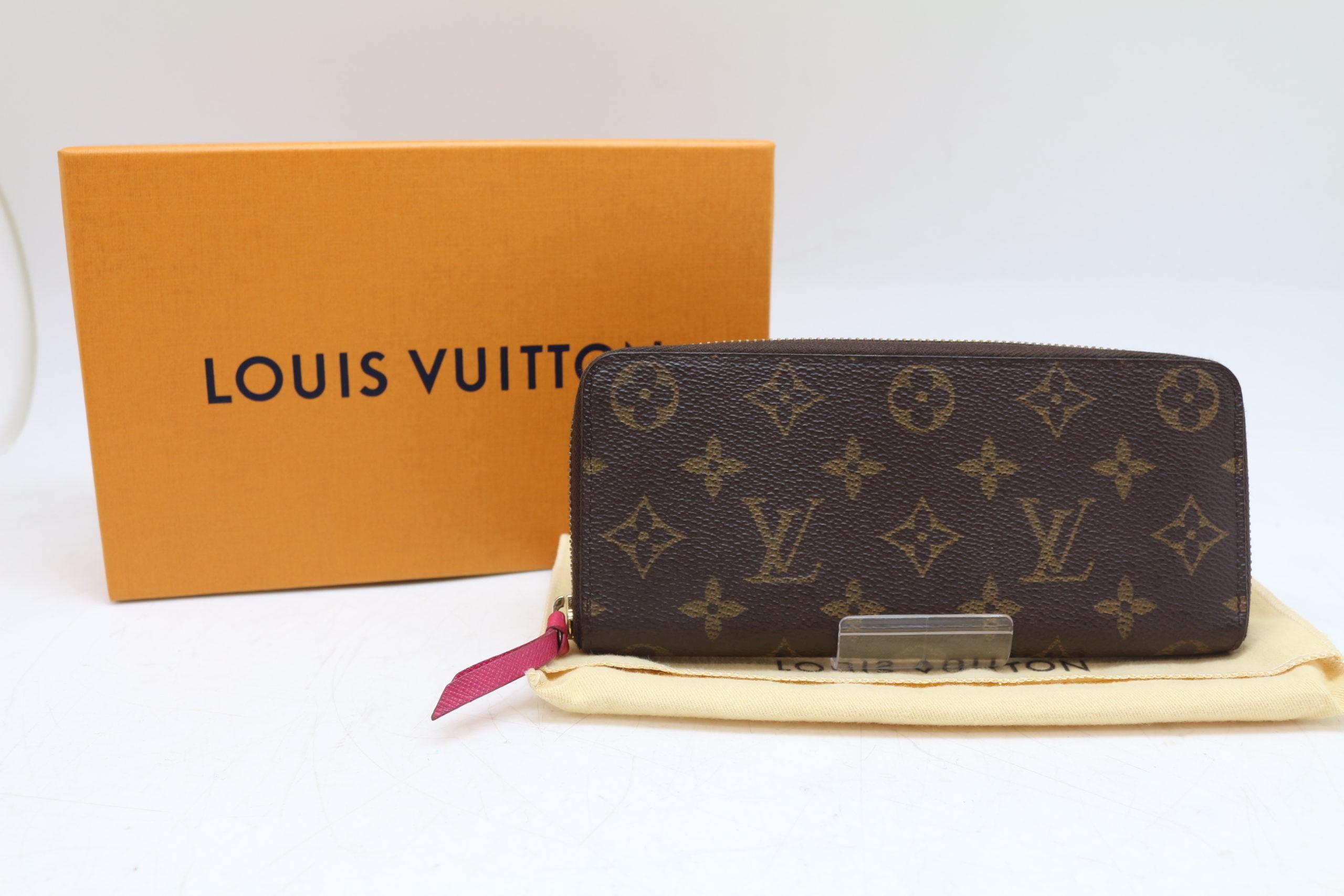 Louis Vuitton/ルイヴィトン M42119 ポルトフォイユ クレマンス モノグラム ラウンドファスナー 長財布 ホットピンク を買取させて頂きました!!の買取-