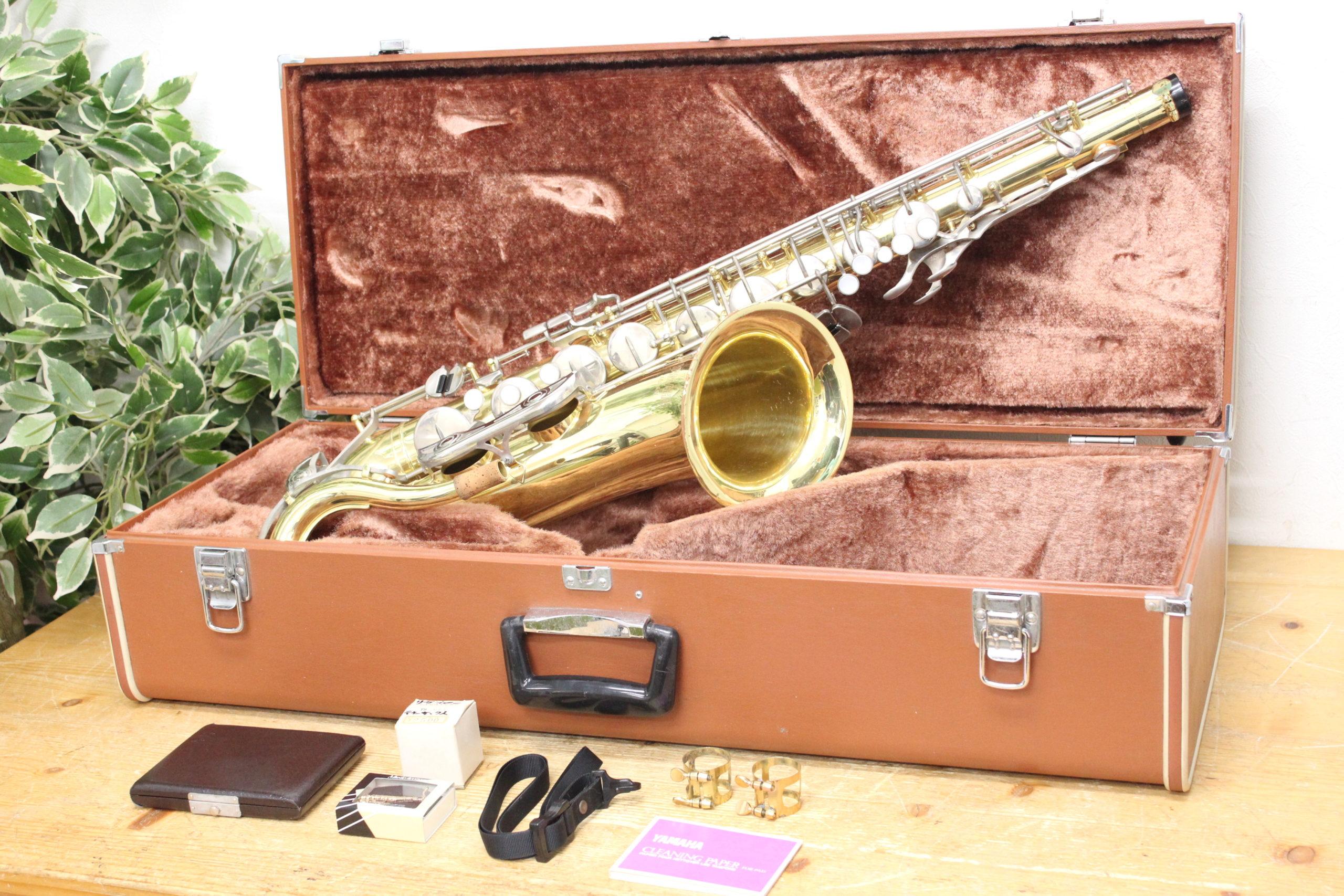 (福岡市早良区)YAMAHA/ヤマハ テナーサックス YTS-23 楽器の買取もお任せ下さい♪の買取-