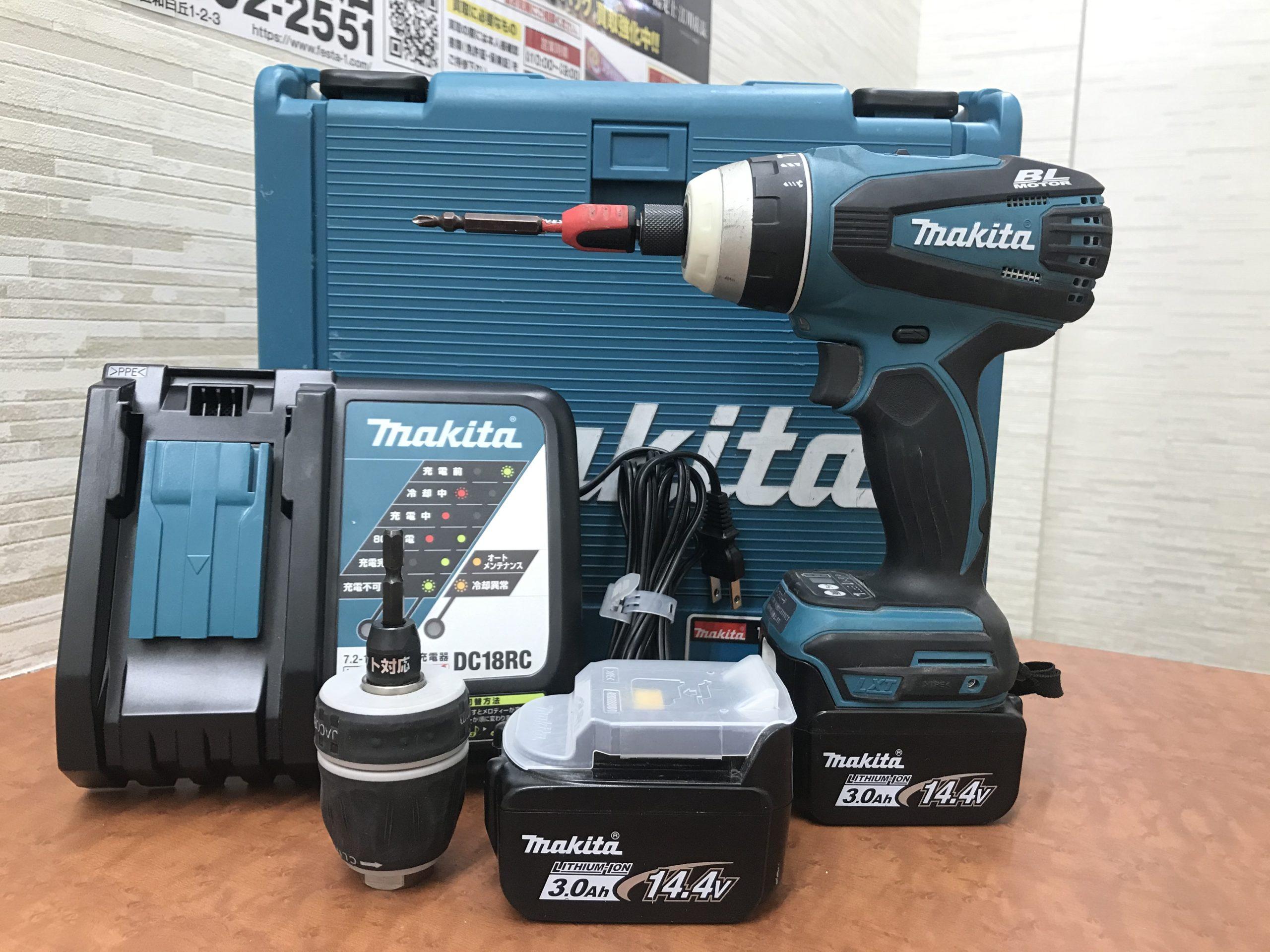 makita/マキタ TP131DRFX 14.4V 充電式 4モード インパクトドライバ 充電器 バッテリー2個 工具Zを買取させて頂きました!!の買取-