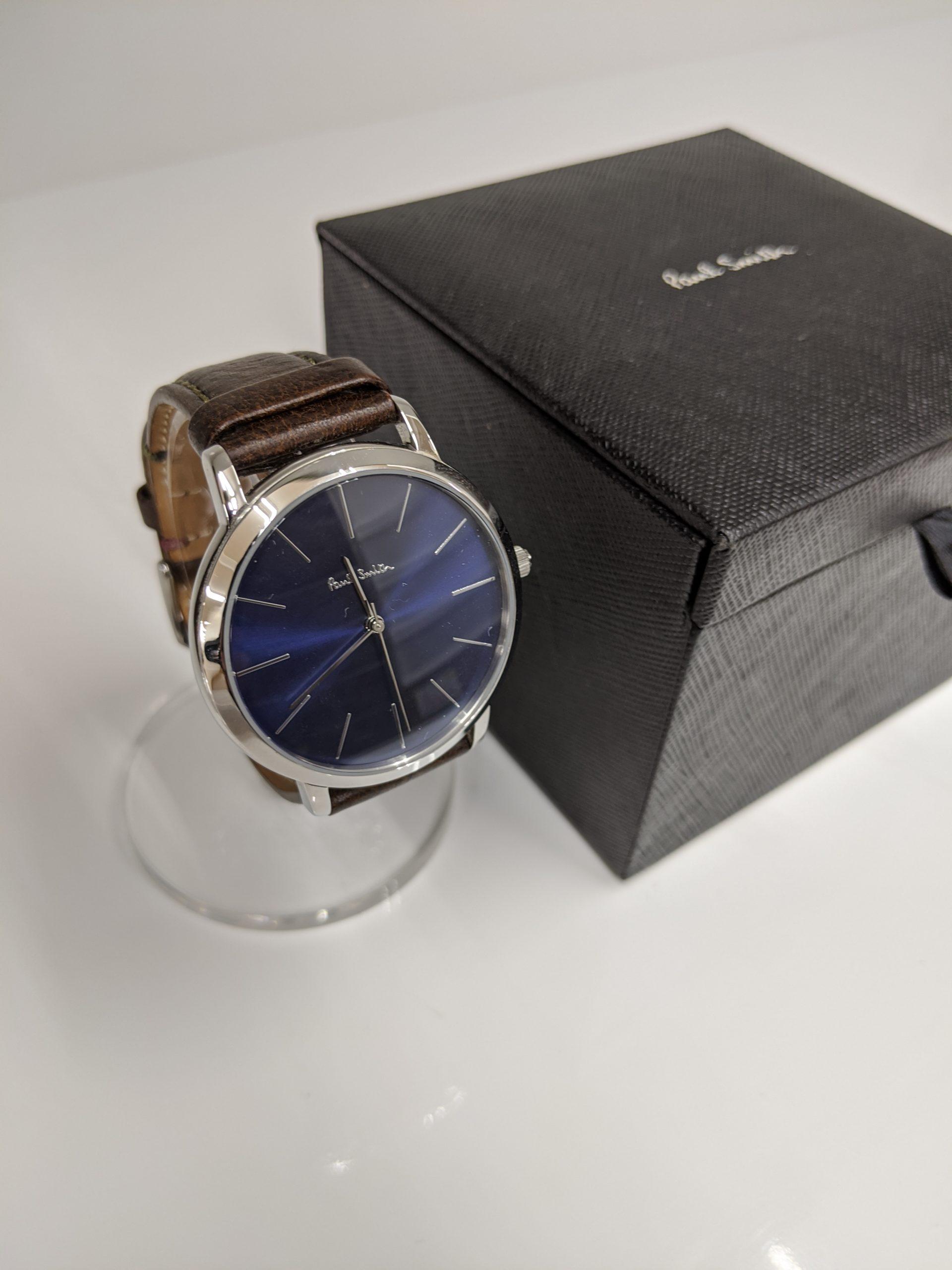 【Paul Smith ポールスミス 腕時計 ブランド品】買い取り致しました!の買取-