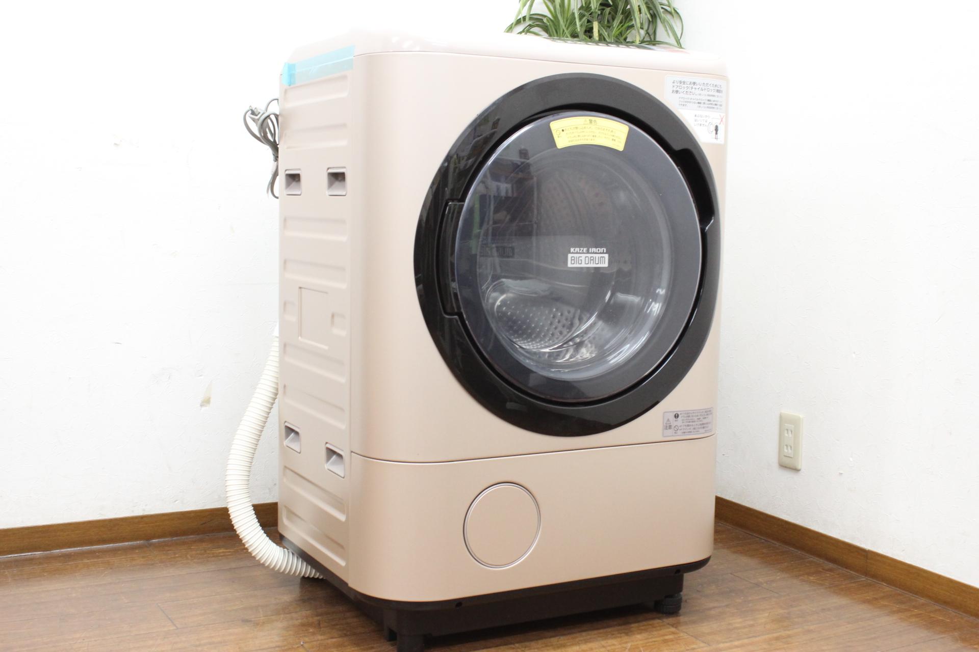 (福岡市東区)日立 ヒートリサイクル ドラム式洗濯乾燥機 BD-NX120AL 2016年製の買取-55000