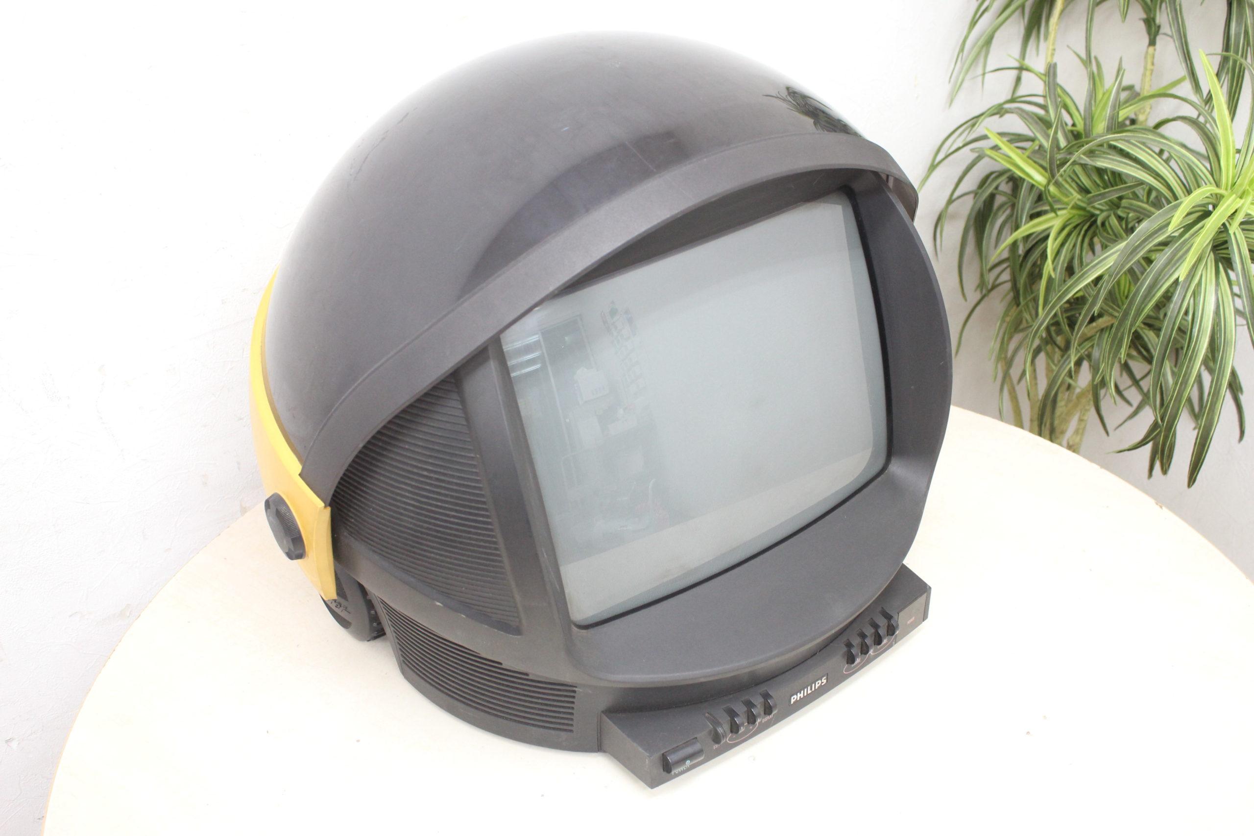 (福岡市早良区)PHILIPS フィリップス 14S11B オシャレなブラウン管テレビ  ヘルメット型 意外なモノが買取対象かも!?の買取-