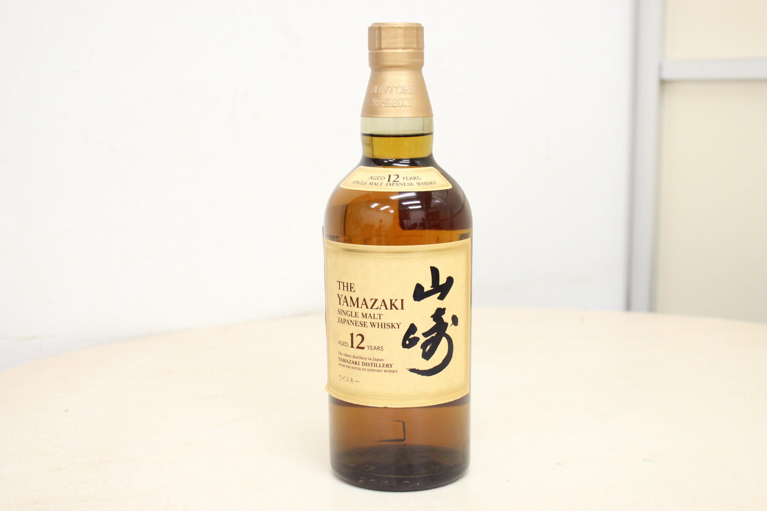 (福岡県大野城市)SUNTORY サントリー 山崎 12年 ウイスキー お酒の買取に自信があります!!の買取-