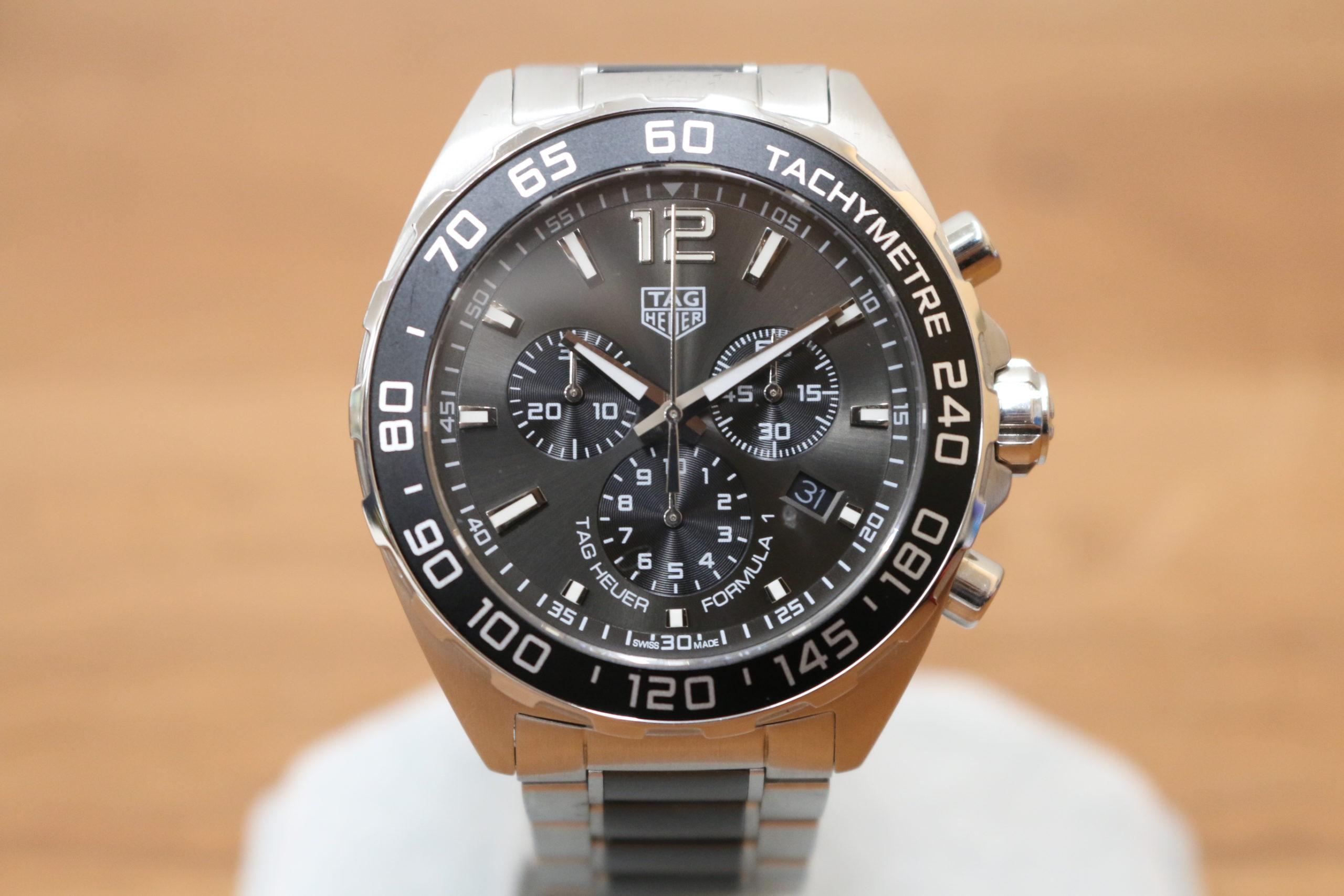 TAG Heuer/タグホイヤ― CAZ1011 フォーミュラ1 クオーツ メンズ 腕時計 F1 ステンレス セラミック メンズを買取させて頂きました!!の買取-