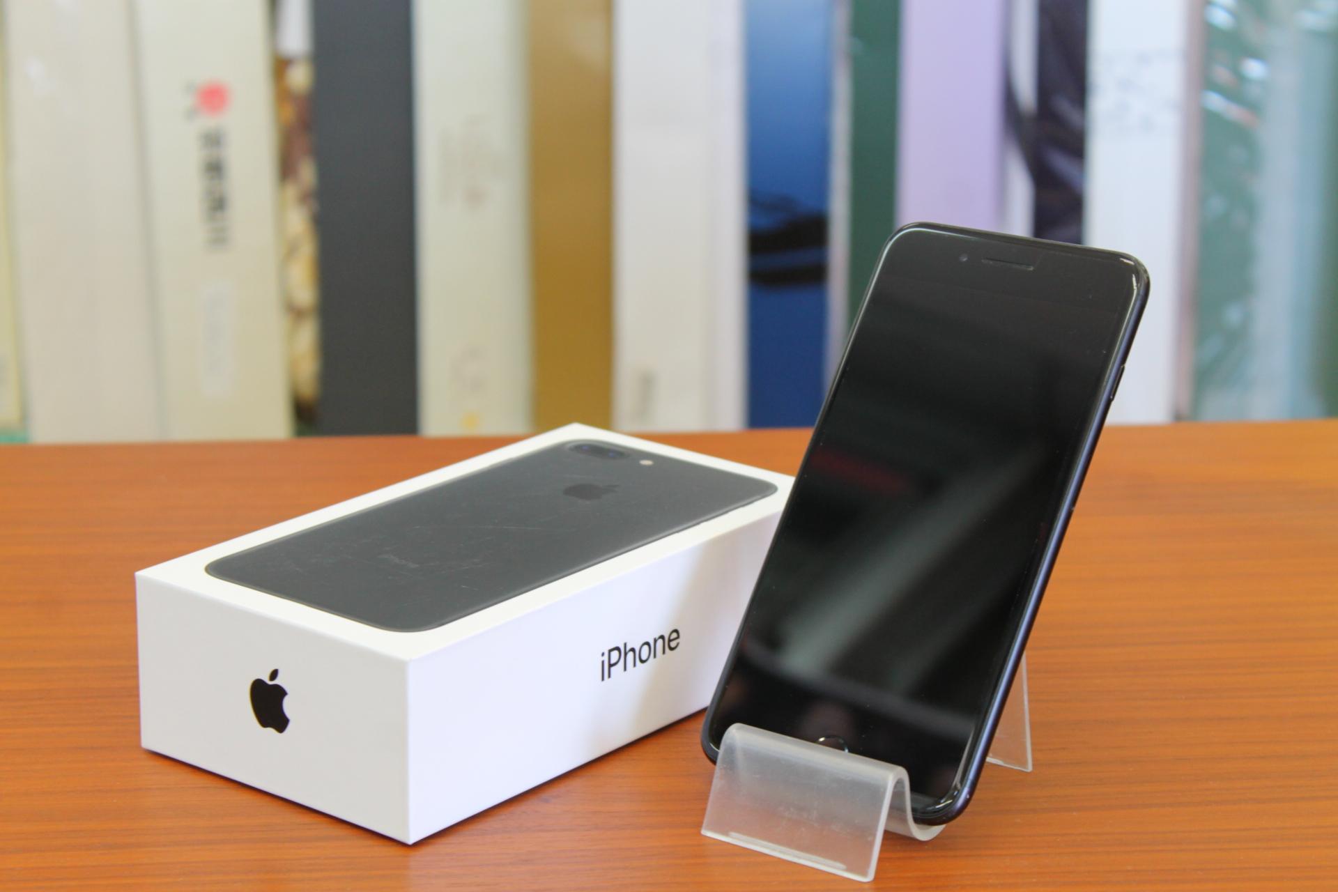 【Apple アップル iPhone7 Plus 256GB docomo ドコモ 白ロム 箱付】を買取させて頂きました!の買取-