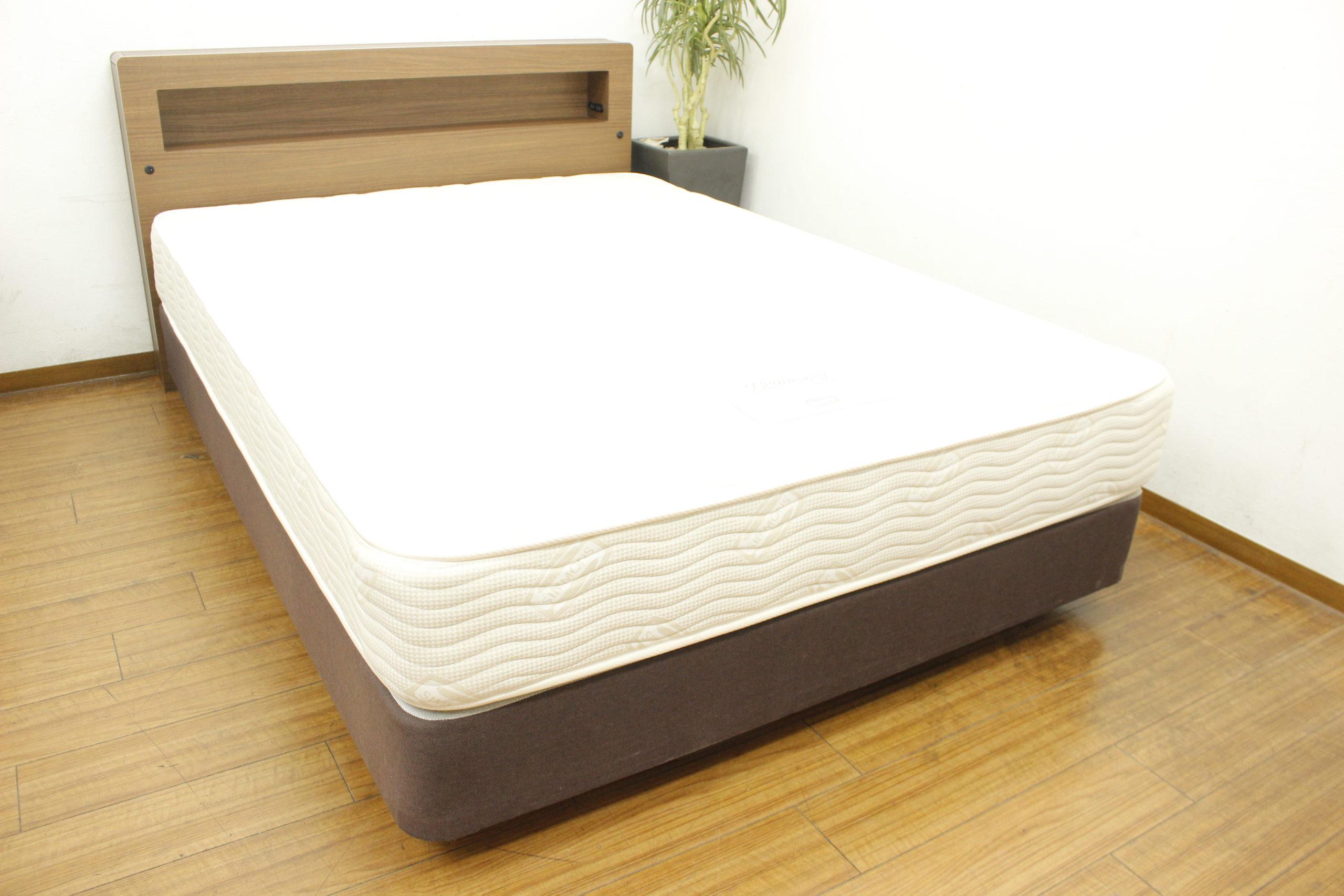 (福岡市中央区)シモンズ  ビューティーレスト ダブルベッド // サータ シーリー 無印良品 マニフレックス など ベッドも買取致します♪の買取-