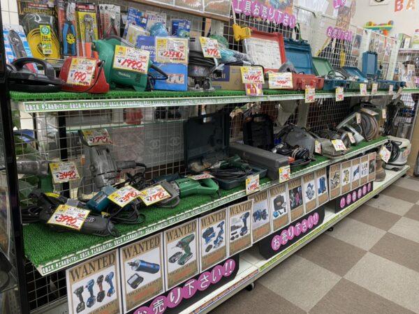 【電動工具 高価買取中!! まだまだ足りません!!】