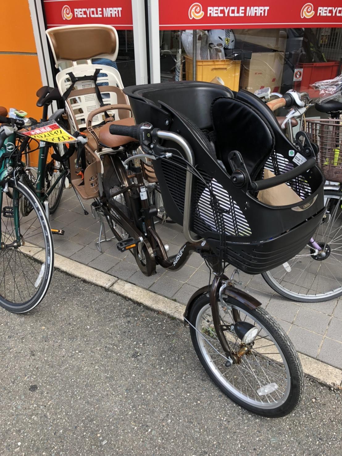 KAIHOU カイホウ チャイルドシートモデル 電動自転車 子供乗せ 前輪20/後輪24インチ SUISUI KH-DCY07 ブラウン をお買取りさせて頂きました!!の買取-
