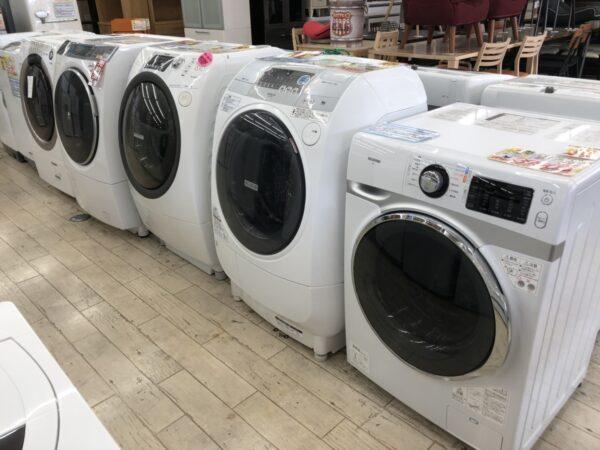 ドラム式洗濯機が10台入荷致しました!!お値段も3万円以内からございます!!