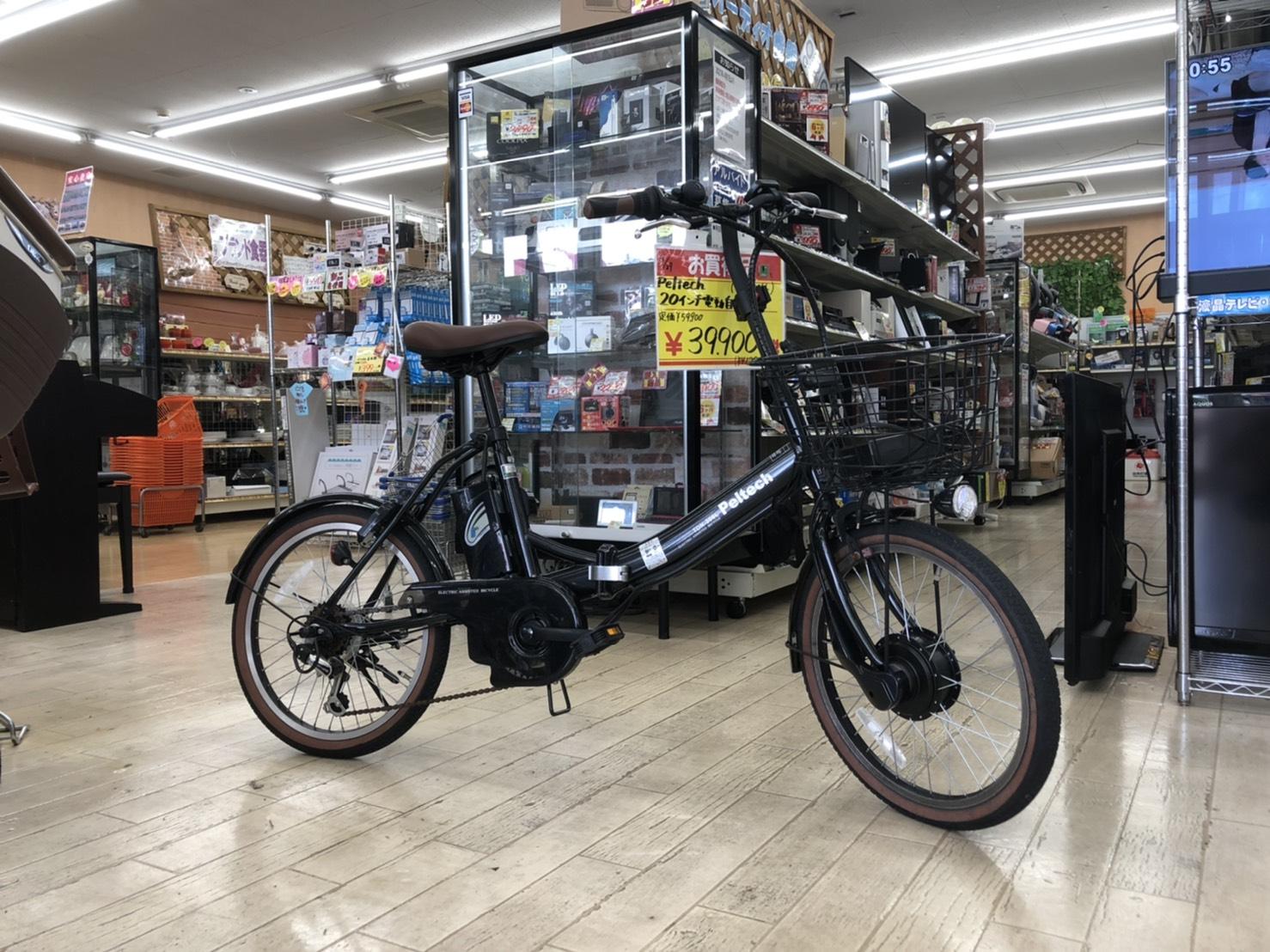 【⭐️希少⭐️PELTECH(ペルテック) 折り畳み電動アシスト自転車 20インチ折り畳み外装6段変速 (TDN-206) 】お買取りしました!の買取-