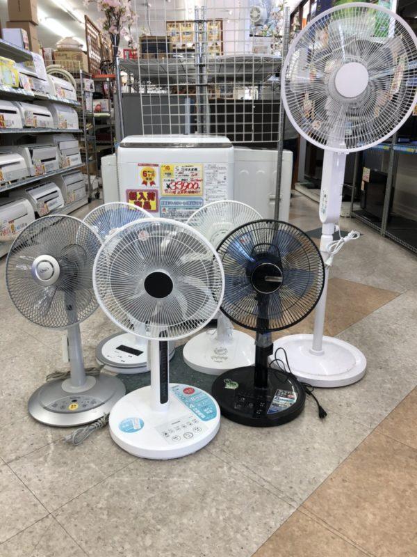 【もう暑いですよね。なので、ついに扇風機販売始めました!!】