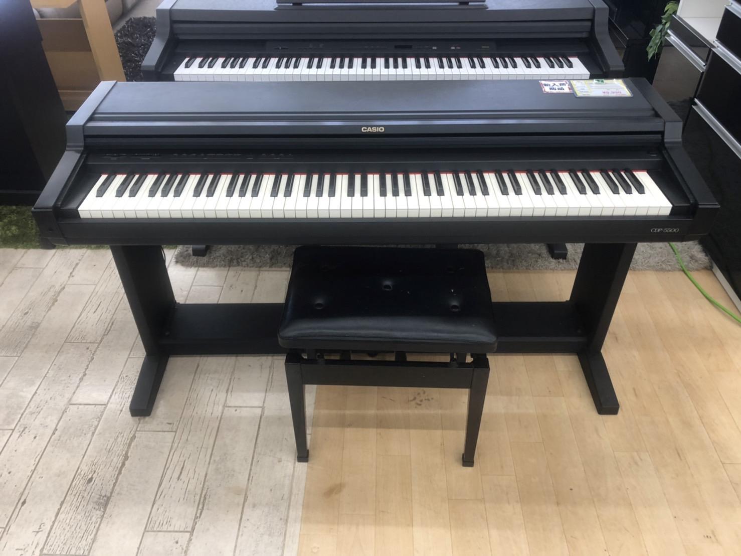 【CASIO/カシオ 定価 ¥65,000円 88鍵盤 電子ピアノ 電子キーボード CDP-5500】を買取りさせて頂きました。の買取-