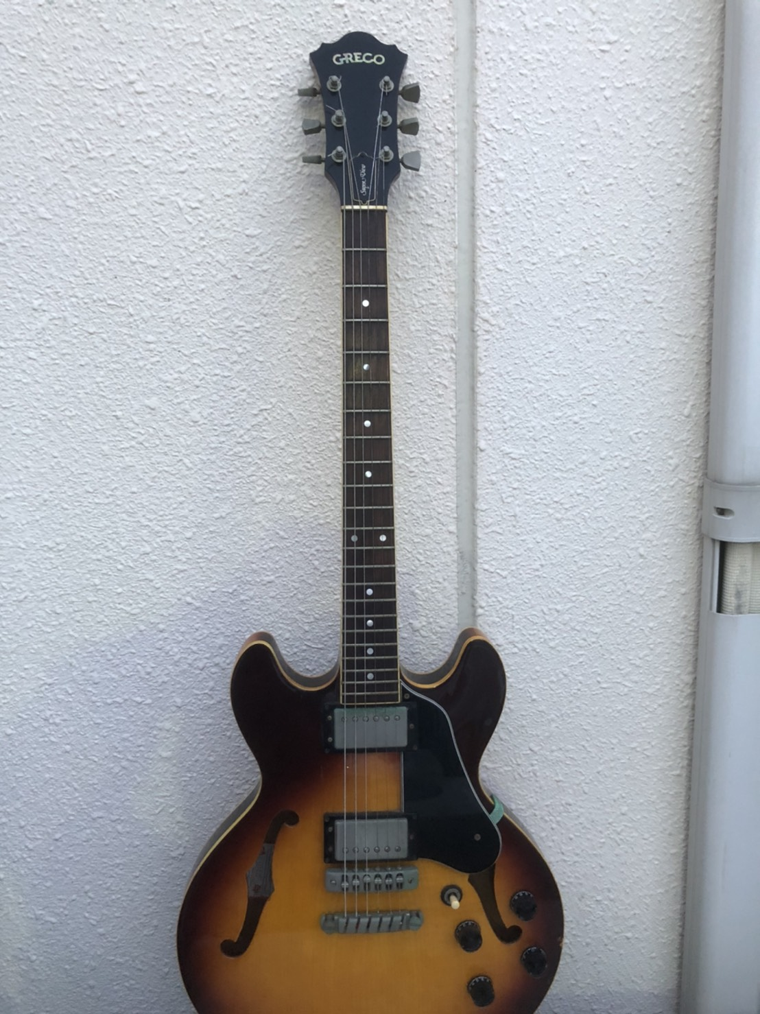 グレコ GRECO SA-550 セミアコ エレキギター ジャズギター をお買取りさせて頂きました!!の買取-