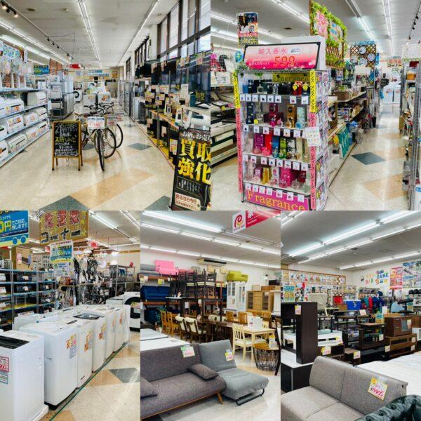 家具・家電・工具・雑貨・楽器などなど何でも買取り致します!!