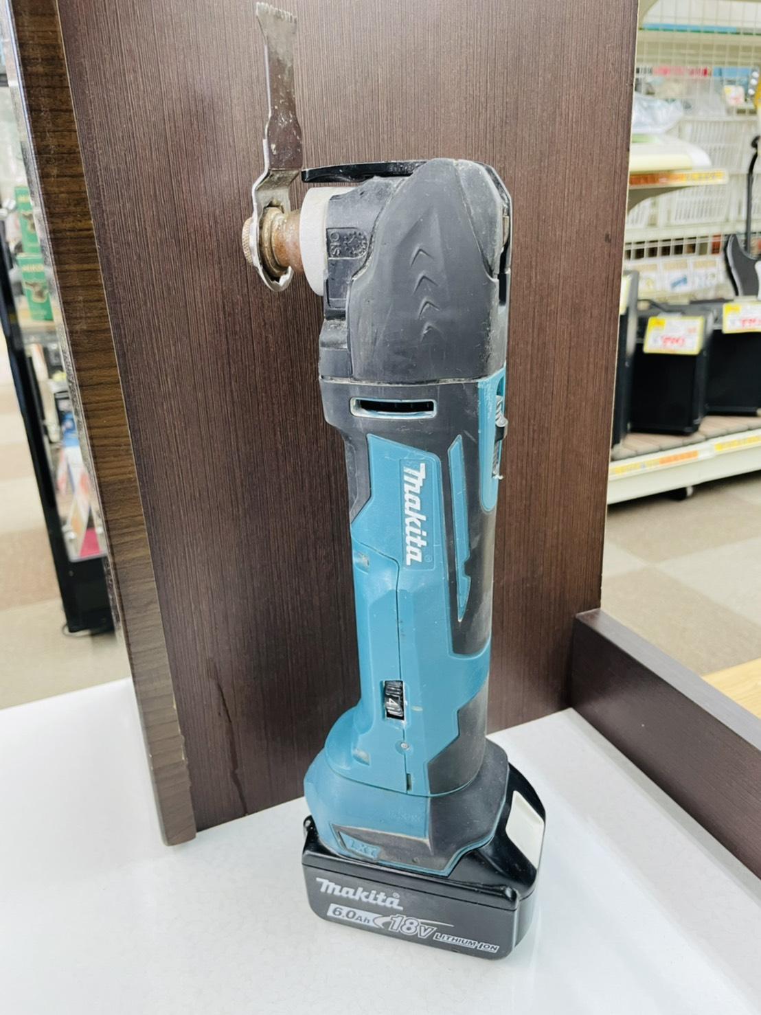 【makita(マキタ) / 18V充電式マルチツール / TM51D 】買い取りさせて頂きました!!の買取-