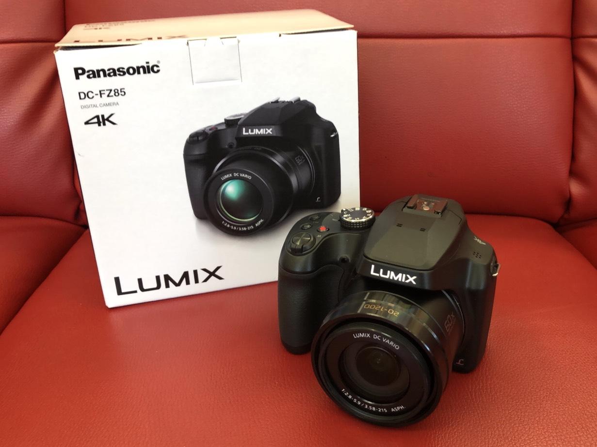 【Panasonic(パナソニック) / LUMIX(ルミックス)デジタルカメラ / DC-FZ85 】買取させて頂きました。の買取-