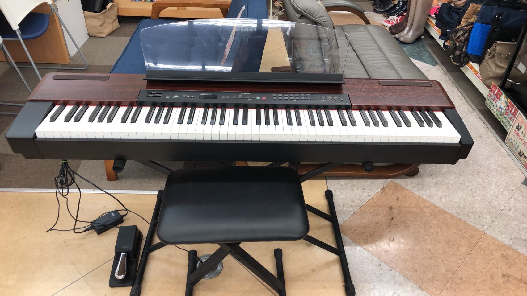 【YAMAHA(ヤマハ / 電子ピアノ)/ P-120 / 2001年】買取させて頂きました!の買取-