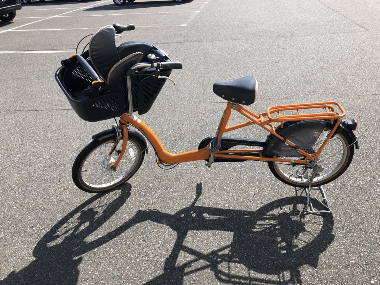 【丸石サイクル / フラッカーズシュシュ / 20インチ自転車 / 子供乗せ自転車】買取させて頂きました!の買取-