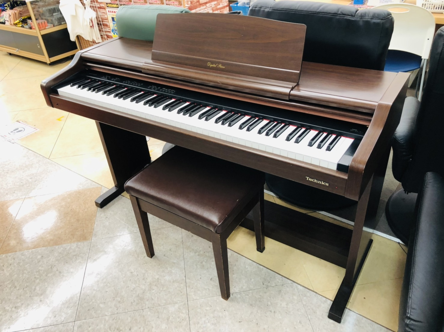 【Technics(テクニクス) / 88鍵盤3ペダル電子ピアノ /  SX-PX55】買取させて頂きました!!の買取-