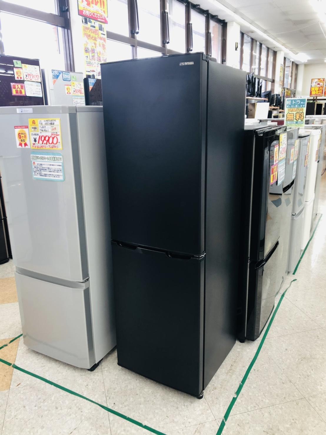 【IRISOHYAMA(アイリスオーヤマ) /162L冷蔵庫 / IRSE-16A-B / 2019】買い取りさせて頂きました!!の買取-